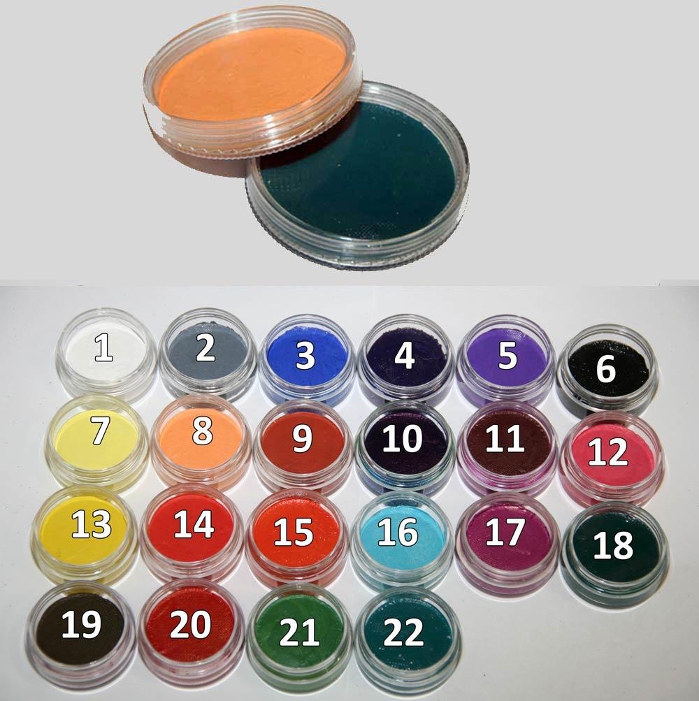 Краска для бодиарта своими руками 29