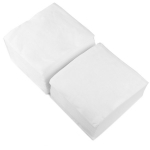 Салфетки одноразовые Белые 30х30 (Спанлейс) 100 шт.