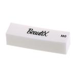 Бафик полировочный двухсторонний белый Beautix 180 grid