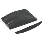 Сменные файлы на основу полумесяц черный 180 гр (толстые)