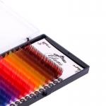 Цветные ресницы Glams C - 0,15
