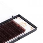 GLAMS Темно-коричневые ресницы на ленте микс D - 0,15