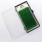 GLAMS Зеленые ресницы микс C - 0,15