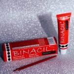 Краска для ресниц и бровей Binacil Натурально-коричневая