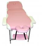 Массажный стол складной MONTANA роз-беж