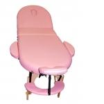 Массажный стол складной NEVADA розовый