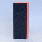 Бафик полировочный трехсторонний Ярко-оранжевый