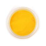 Пудра для декора ногтей ярко-желтая
