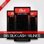 Ресницы BIS SILK (шелк) D-0,20
