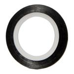 Фольга-лента черная узкая (1мм.)