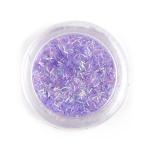 Элемент для декора ногтей фиолетовый
