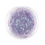 Элемент для декора ногтей темно-фиолетовый