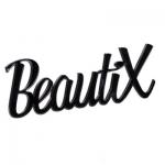 Сувенир - логотип Beautix черный