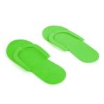 Тапочки неразборные зеленые