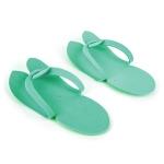 Тапочки косметические зеленые