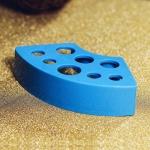 Держатель для инструментов пластиковый, синий.