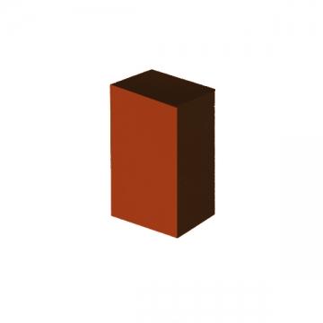 Бафик полировочный двухсторонний оранжевый мини 100 grid