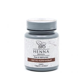BIO HENNA Хна в капсулах 30 шт (6 гр.) светло-коричневый