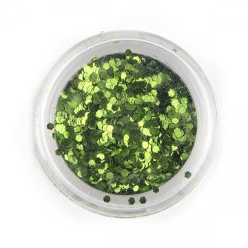 Блестки зеленый глиттер