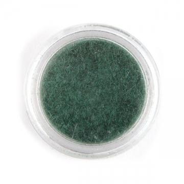 Кашемир для декора ногтей пепельно-зеленый