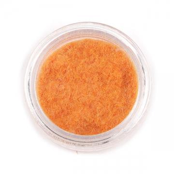 Кашемир для декора ногтей светло-оранжевый