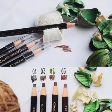 Самозатачивающийся карандаш для бровей коричневый