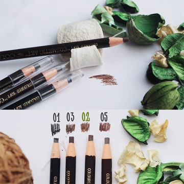Самозатачивающийся карандаш для бровей св.коричневый