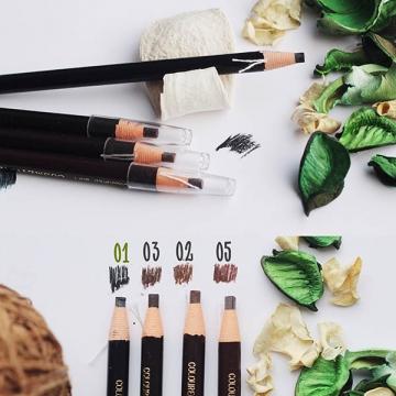 Самозатачивающийся карандаш для бровей черный