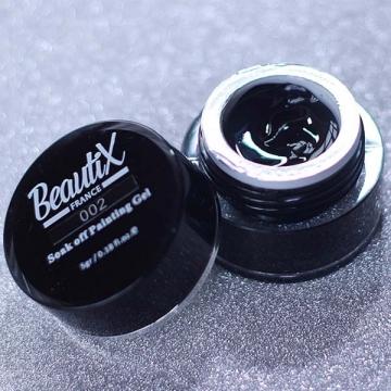 Гель краска Beautix 002