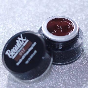 Гель краска Beautix 017