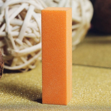 Бафик полировочный четырехсторонний Оранжевый