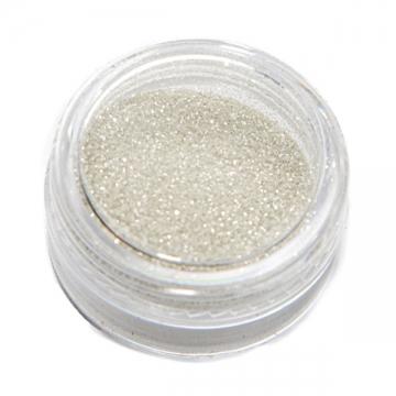 Песок для декора Светло-серебряный