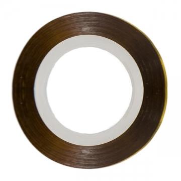 Фольга-лента золотистая узкая (1мм.)