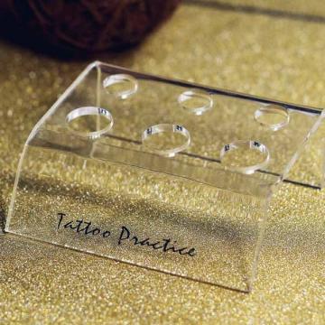 Держатель для инструментов пластиковый, прозрачный